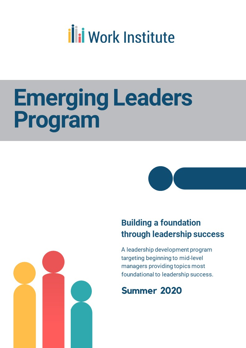 Emerging Leaders Information Packet title page
