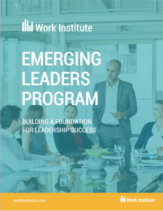 Emerging Leaders Program - Program Cover